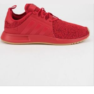 Adidas Red shoes size 9